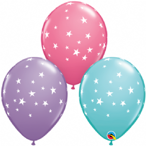 Contempo Stars Latex Balloons | Free Delivery Available